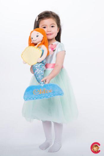 Stoffpuppe Meerjungfrau Fiona